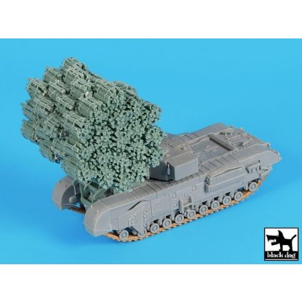Black Dog Frame fascine for Churchill MK IV for Dragon