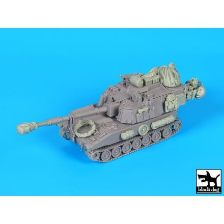 Black Dog M109 A6 Paladin accessories set for Riich models