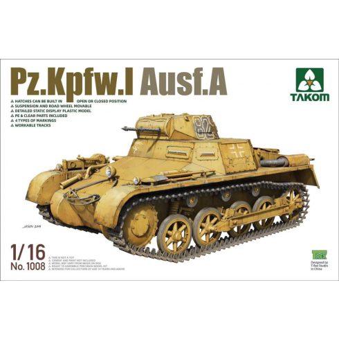 Takom Pz.Kpfw.I Ausf.A makett