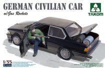 Takom BMW German Civilian Car with Gas Rockets makett