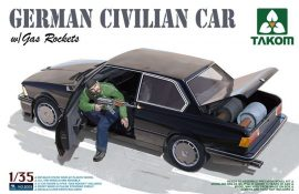 Takom BMW German Civilian Car with Gas Rockets