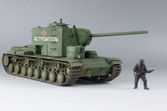 Takom Soviet Super Heavy tank KV-5 makett
