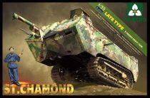 Takom French Heavy Tank St.Chamond Late Type makett