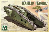Takom WWI Heavy Battle Tank Mark IV Male Tadpole makett