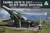 Takom Skoda 42cm M.1917 Heavy Siege Howitzer makett