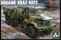 Takom Ukraine KrAz-6322 Heavy Truck late type makett