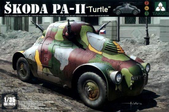"""Takom Skoda PA-II """"Turtel"""" makett"""