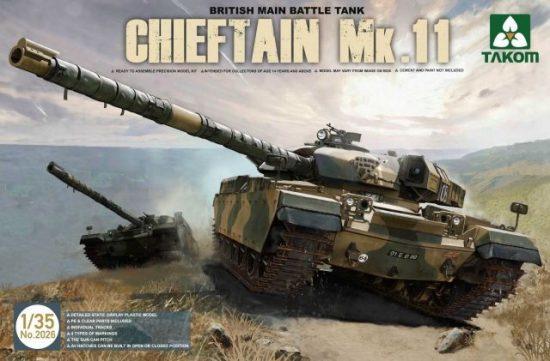 Takom British Main Battle Tank Chieftain Mk.11 makett