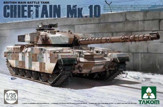 Takom British Main Battle Tank Chieftain Mk.10
