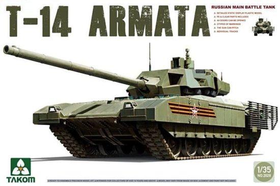 Takom Main Battle Tank T-14 makett