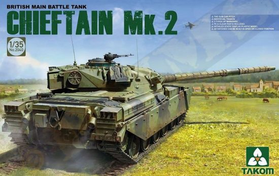 Takom British main Battle Tank Chieftain Mk.2 makett