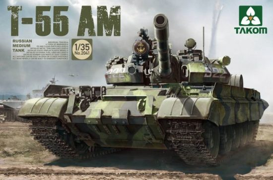 Takom Russian Medium Tank T-55AM