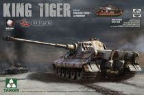 Takom Sd.Kfz.182 King Tiger Henschel Turret w/Zimmerit PZ.ABT. 505 makett
