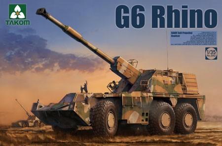 Takom G6 Rhino SANDF Self-Propelled Howitzer makett