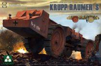 Takom German Super Heavy Mine Cleaning Vehicle Krupp Raumer S makett