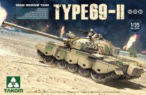 Takom Iraqi Medium Tank Type-69 II makett
