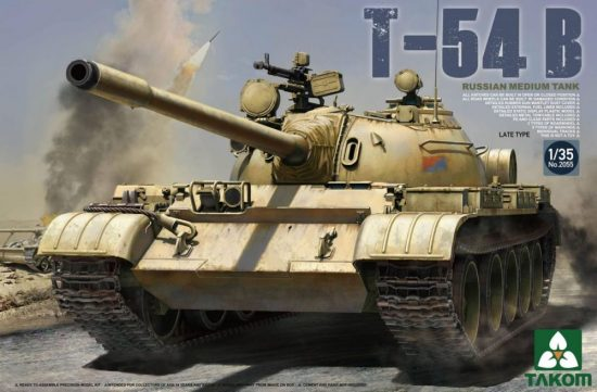 Takom Russian Medium Tank T-54 B Late Type makett