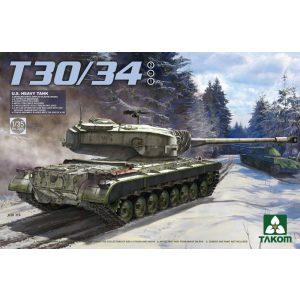 Takom U.S. Heavy Tank T30/34 makett