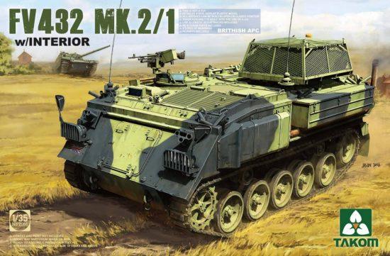 Takom British APC FV432 Mk.2/1 makett