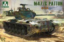 Takom US Medium Tank M47/G 2 in 1 makett