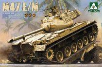 Takom US Medium Tank M47E/M makett