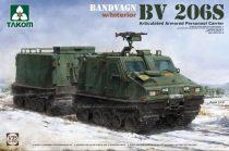Takom Bandvagn BV 206S Articulated Armored Personnel Carrier makett