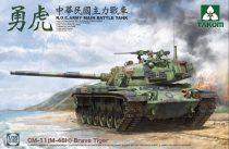Takom  R.O.C. Army CM-11 (M-48H) Brave Tiger makett