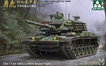 Takom  R.O.C. Army CM-11 (M-48H) w/ERA Brave Tiger makett