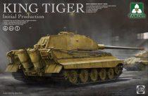 Takom German King Tiger Initial 4in1 makett