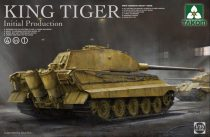Takom German King Tiger Initial 4in1 makett