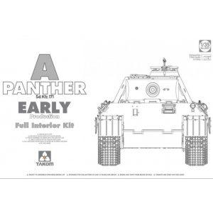 Takom SdKfz 171 Panther Ausf. A Early w/int. makett