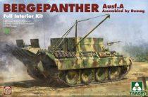 Takom Bergepanther Ausf. A w/ Full Interior makett