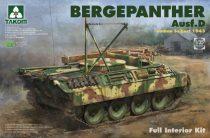 Takom Bergepanther Ausf. D w/ Full Interior makett