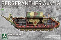 Takom Bergepanther Ausf.G - full Interior makett