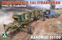 Takom Stratenwerth 16T Strabokran 1944/45 with Hanomag SS100 makett