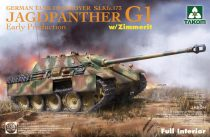 Takom Jagdpanther G1 early w/ Zimmerit full Interior makett