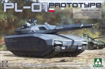 Takom PL-01 PROTOTYPE POLISH LIGHT TANK makett