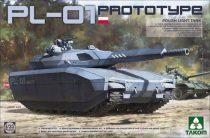 Takom PL-01 PROTOTYPE POLISH LIGHT TANK makett