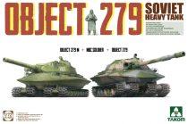 Takom Object 279 Object 279M + NBC Soldier + Object 279 makett