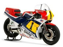 Tamiya Honda NS500 ('84) makett
