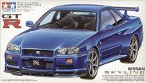 Tamiya Nissan Skyline GT-R V Spec R34 makett
