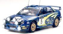 Tamiya Subaru Impreza WRC 2001 Rally of Great Britain makett