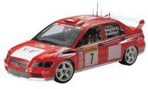 Tamiya Mitsubishi Lancer Evo VII WRC makett