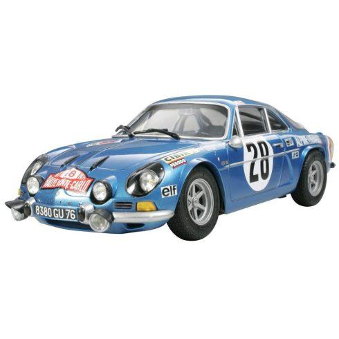 Tamiya Renault Alpine A110 1971 - Monte Carlo makett