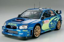 Tamiya Subaru Impreza WRC Monte Carlo 2005 makett