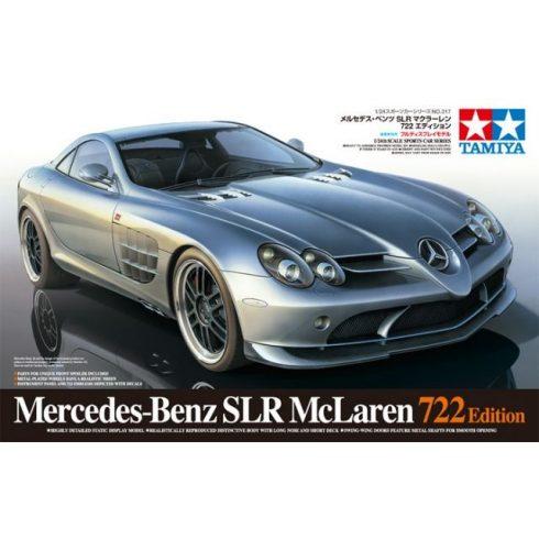 Tamiya Mercedes-Benz SLR722 makett