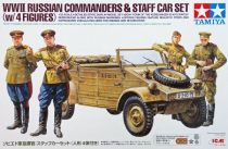 Tamiya Russian Commanders Staff Car - w/4 Figures makett
