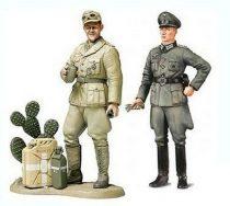 Tamiya WWII Wehrmacht Officer & Africa Corps Tank Crewman