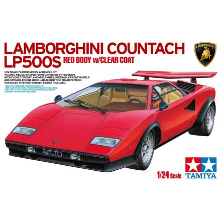 Tamiya Lamborghini Countach LP500S makett