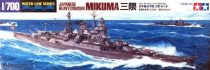 Tamiya Japanese Heavy Cruiser Mikuma makett